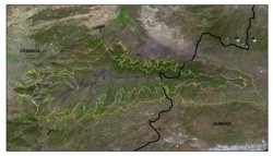 IDForestal Vista satelital del Parque Nacional de Sierra Nevada (Granada)
