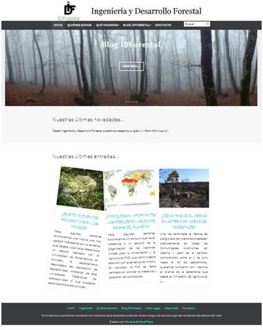 Pagina Inicio idforestal.es